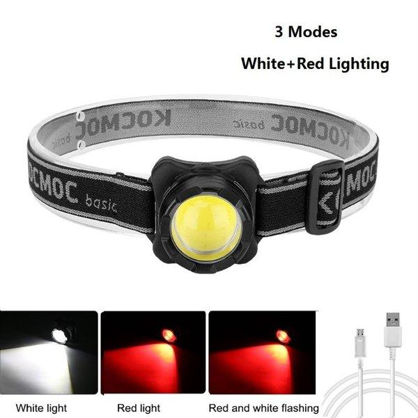 3 Modes Red Light