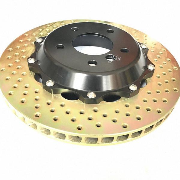 top popular Jekit car brake part 355*32mm disc with center cap for AP9660 original brake caliper for LS 460 front wheel rim 18'' VNMK# 2021