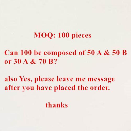 MOQ Tipps