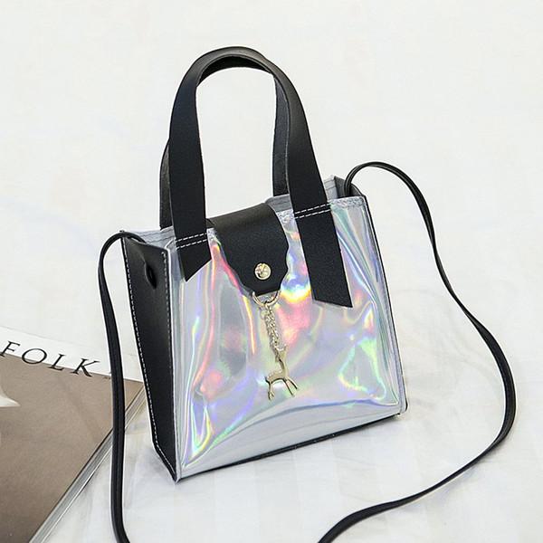 lazer siyah çanta