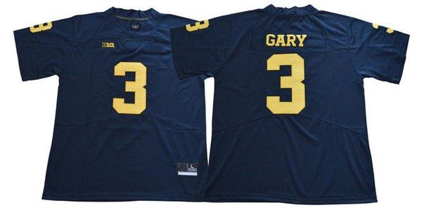 #3 Rashan Gary blue