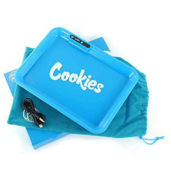 blaue Cookies