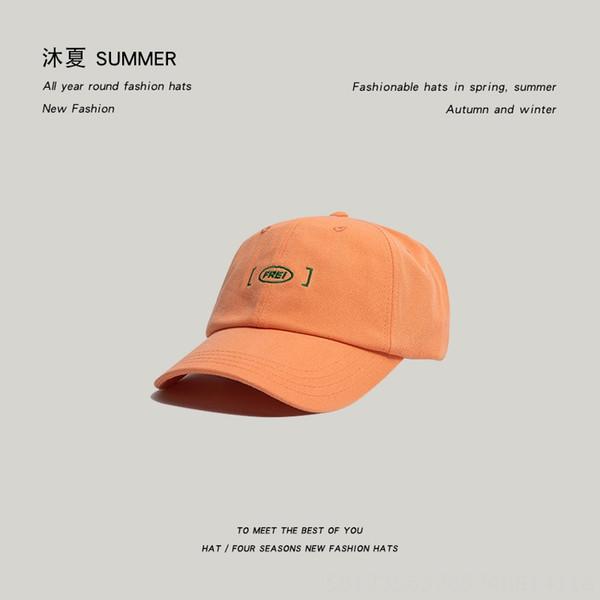 Baseball Frei Cap-laranja-6 1/2