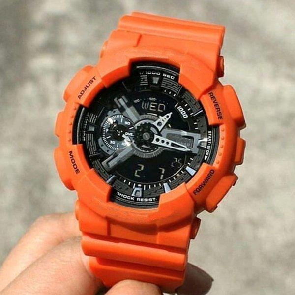 Orange Schwarz