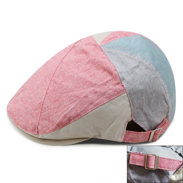 patchwork-pink-Adjustable for 56-59cm he
