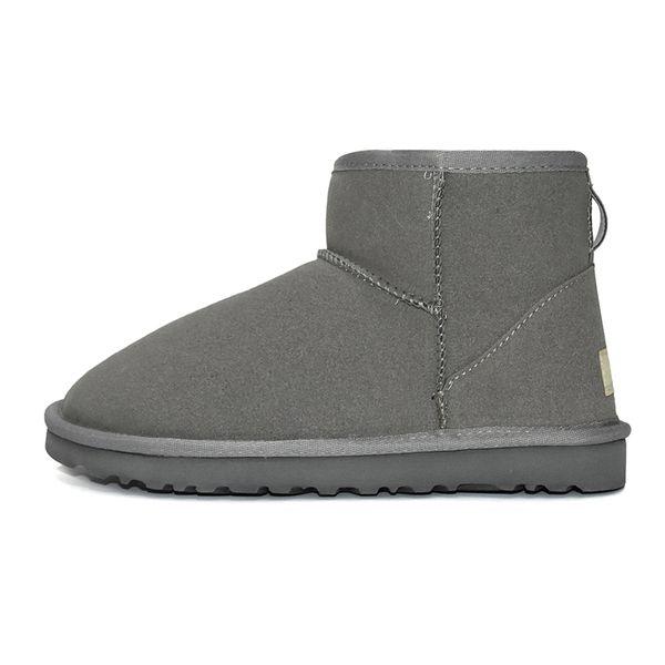 3 Classic Mini Stivali - Grey