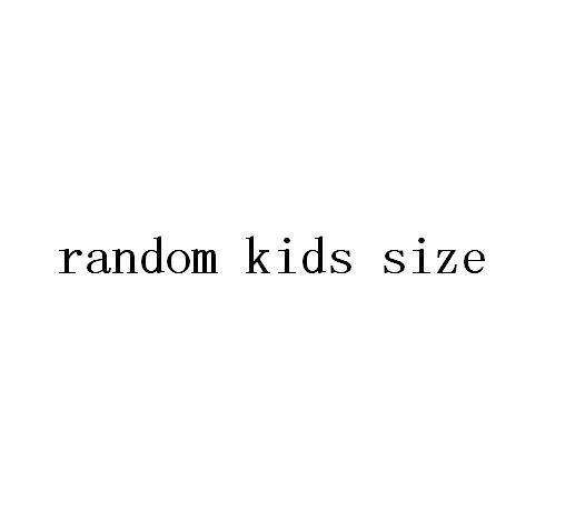 случайный размер детей