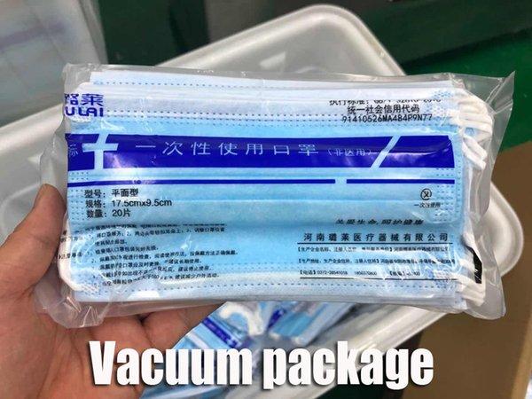 Pacote Vacuum azul