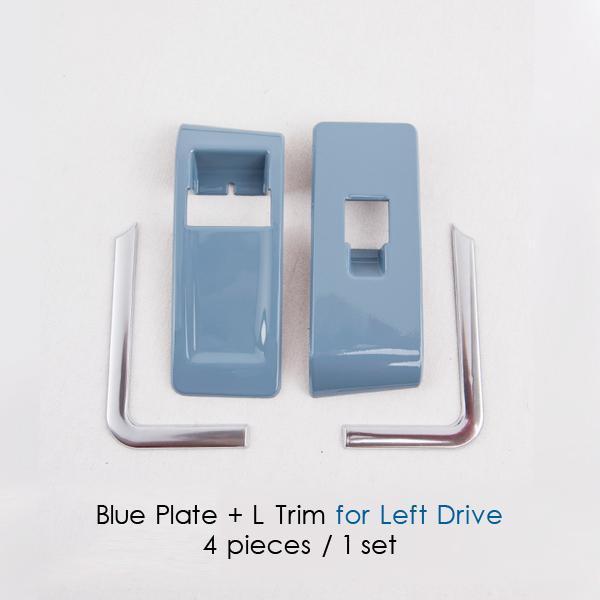 Blue plate L Trim