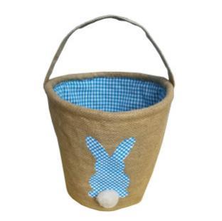 #2 Burlap Easter Baskets
