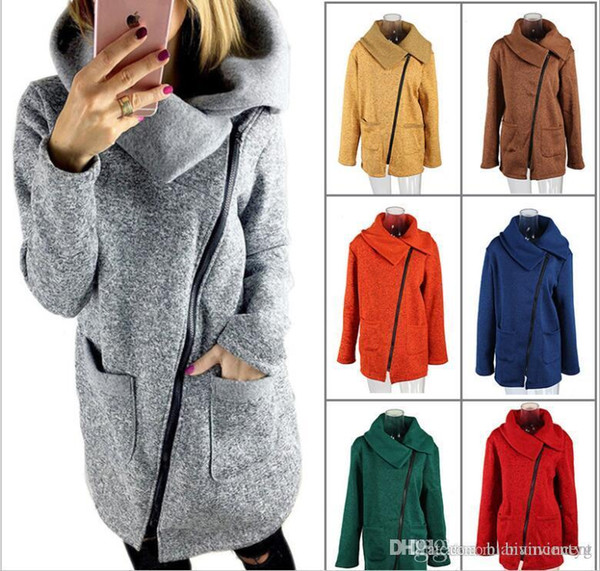 top popular 2019 Hi-Q new style Overcoat dust coat jacket for women fashion wear in autumn and winter fleece Winter spring bigger sizes brushed S-XXXXXL 2020