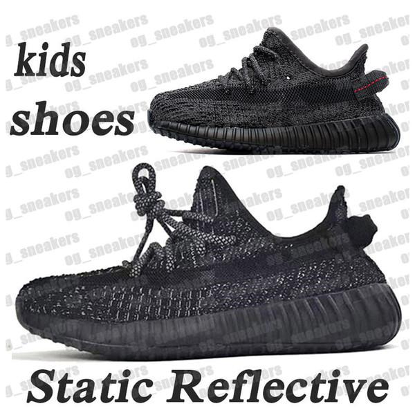 # 1 estático Negro de Refective 24-48