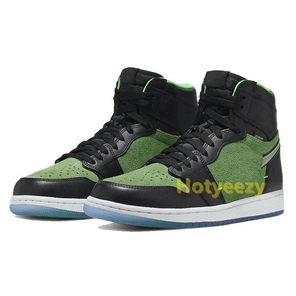 11.zoom siyah yeşil
