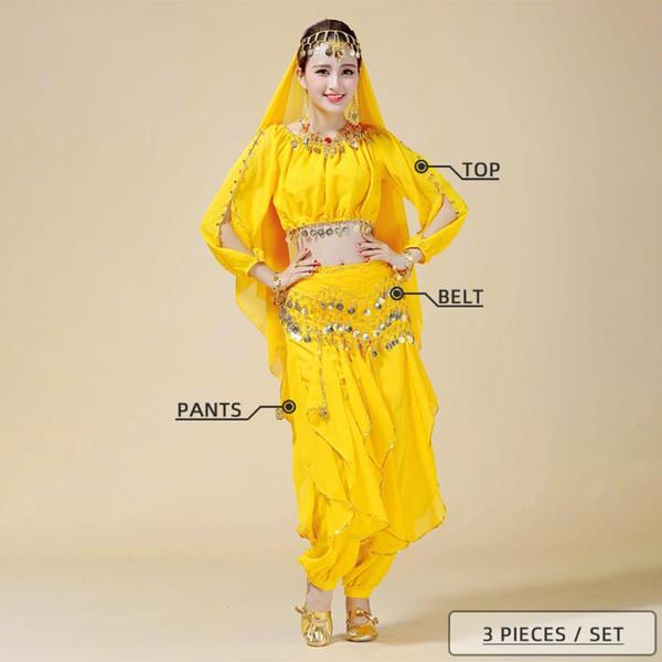 Amarelos 3 Pieces