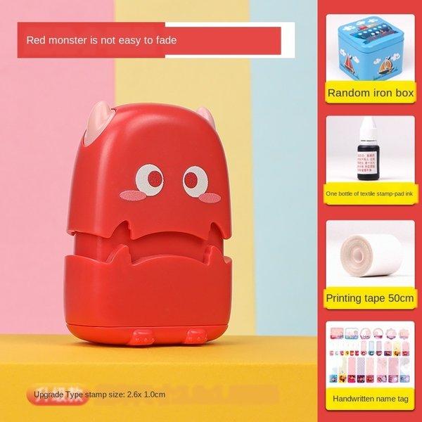 rot kleines Monster-große Geschenktüte A