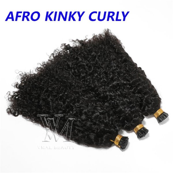 (Afro Kinky Curly) I tip Double Drawn