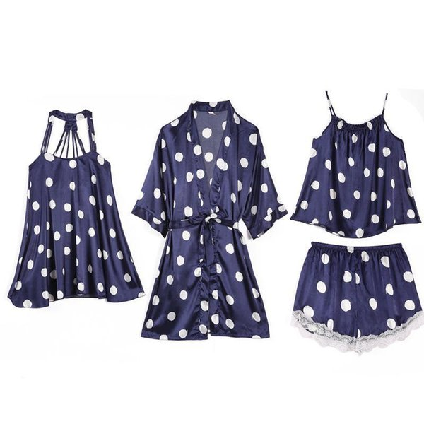 4PCS Set Navy Blue