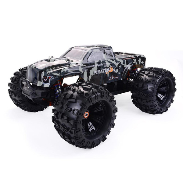 best selling new RCtown ZD Racing MT8 Pirates3 1 8 2.4G 4WD 90km h Electric Brushless RC Car Metal Chassis RTR 2020