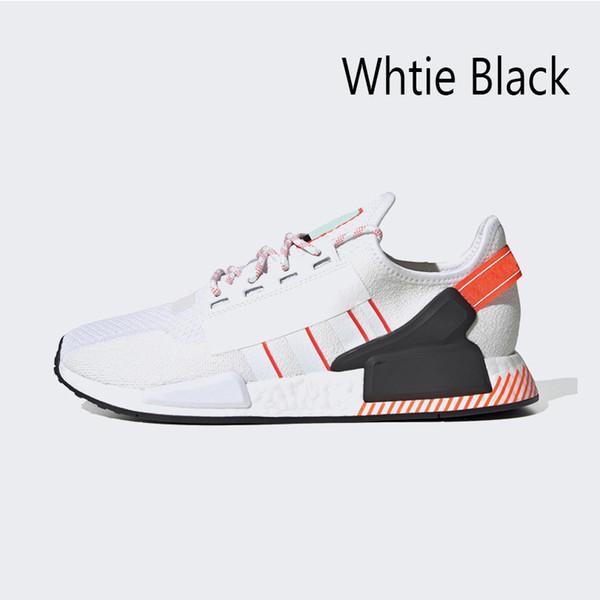 белый черный