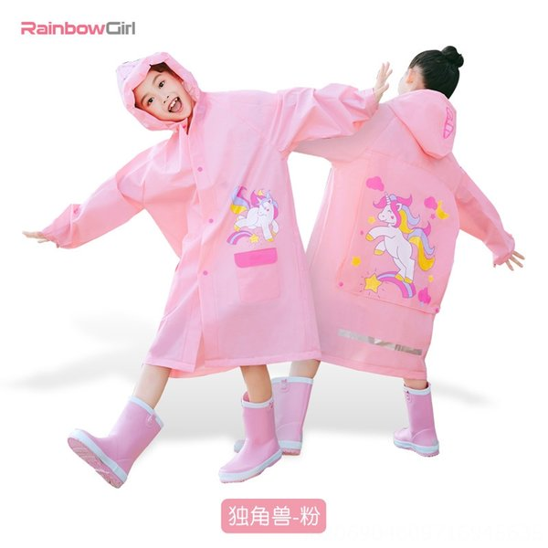 Unicorn-pink with Hidden Schoolbag-Xxxl