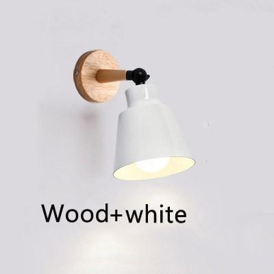 Wood white without bulb Warm White