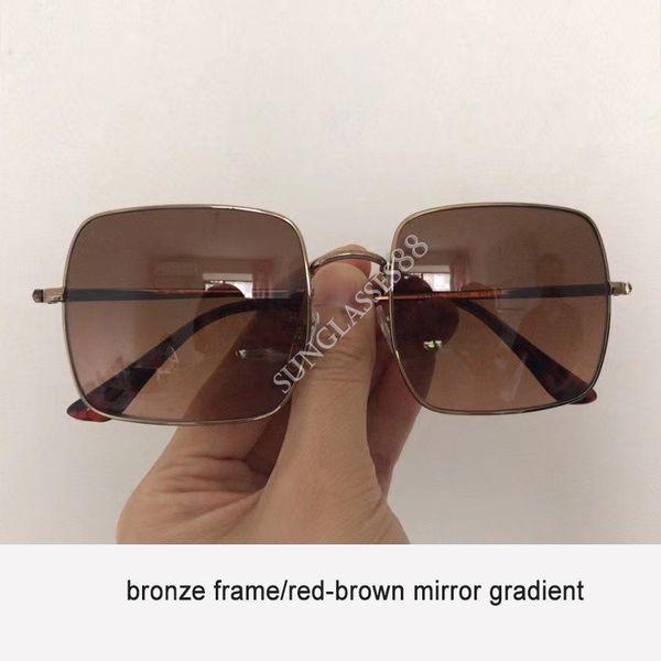 bronze-rot braun verlaufend