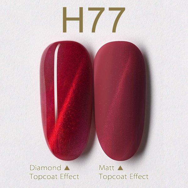 H77 кошачий глаз гель