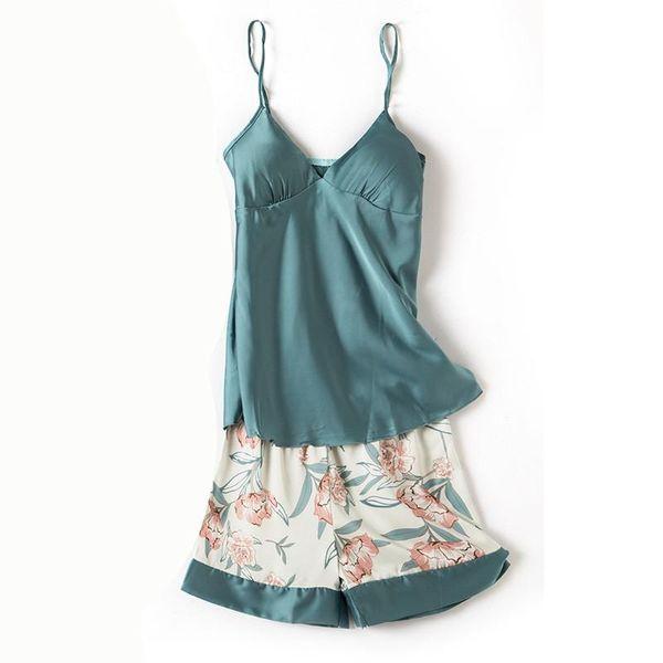 Shorts Set Lake Blue