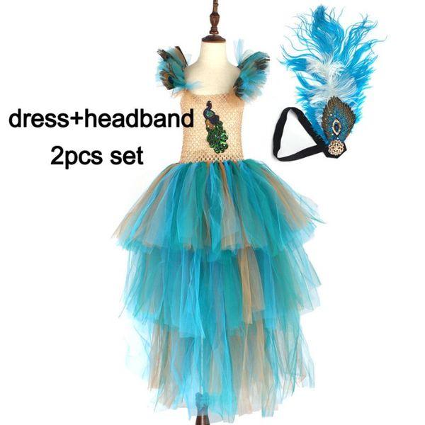 dress and headband