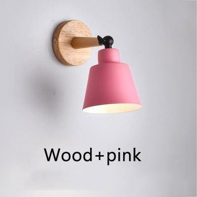 Wood pink without bulb Warm White