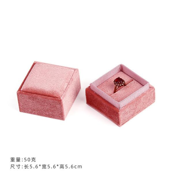 розовый цвет 5.6x5.6x5.6cm