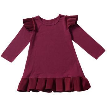 # 3 fliegende Ärmel Mädchenkleider