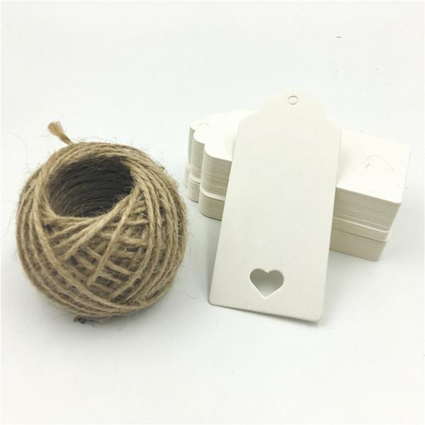blanc avec 15m de corde