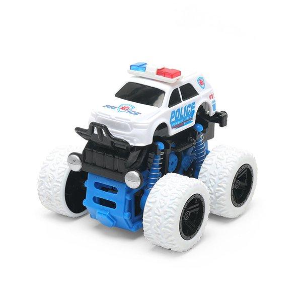 الشرطة سيارة بيضاء