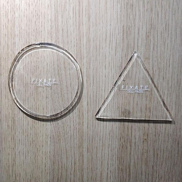 transparent (round + triangle