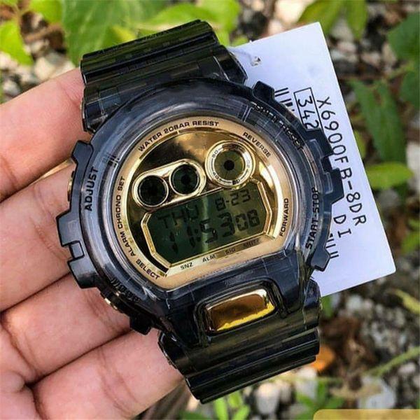 7transparent gold schwarz