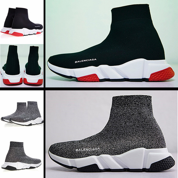 best selling 2020 fashion air cushion socks shoes men's and women's sports shoes Pu outsole high-elastic knitted surface lightweight and comfortable run