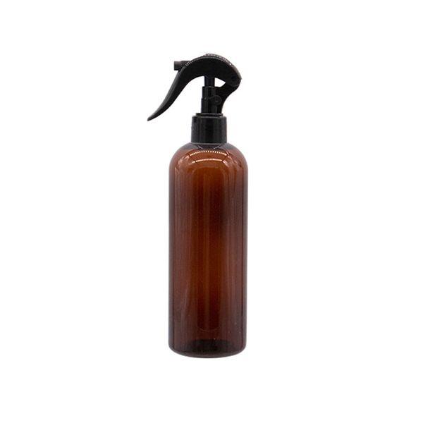300ML زجاجة براون الأسود PET