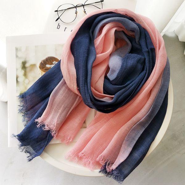 pink + navy blue]-190cmx90cm