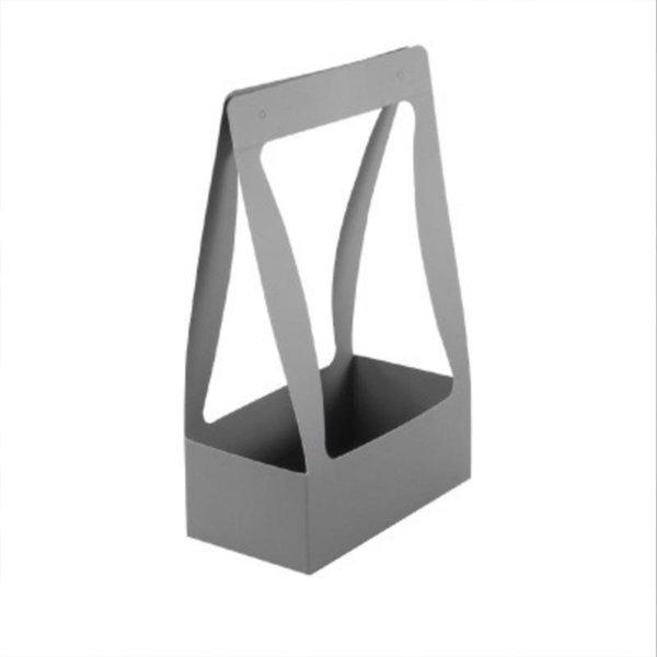 gris porcelaine 34.5x22.5x11.5cm