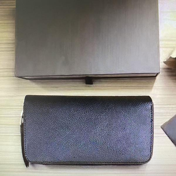 best selling M61864 M63691 M64090 Top Quality Embossed Empreint Leather ZIPPY Wallet For Women Long Zipper Cowhide Card Holders Purses Woman Wallets