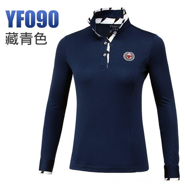 Темно-синяя рубашка с длинными рукавами черный и W