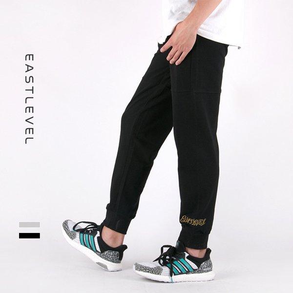 черные вышитые штаны