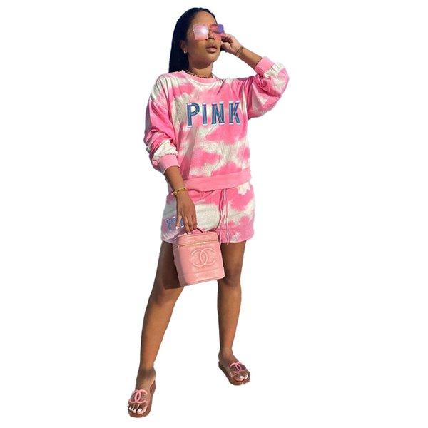 rosa mit Buchstaben