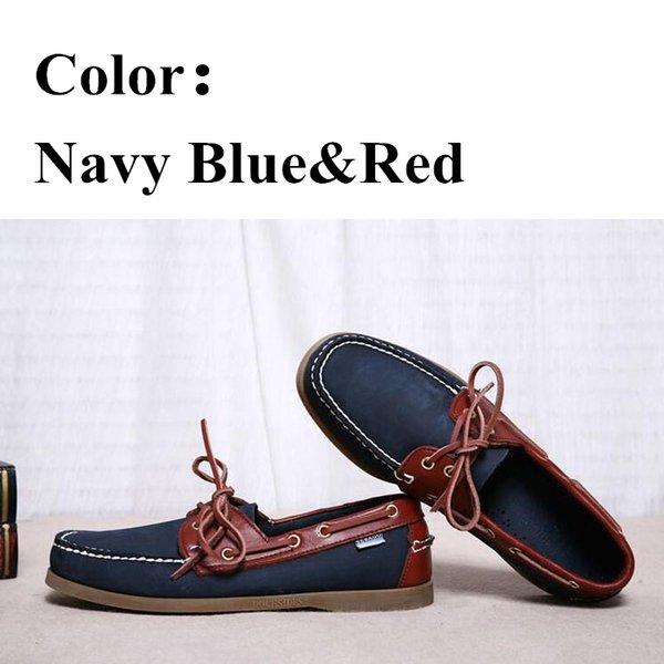 Marine-Blau-Rot