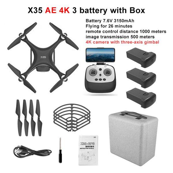 X35 AE 4K حالة 3B