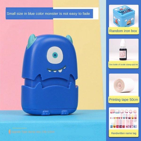 blau kleine Monster-große Geschenktüte A