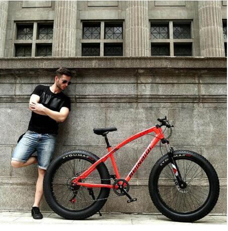 26inch red 24 speed
