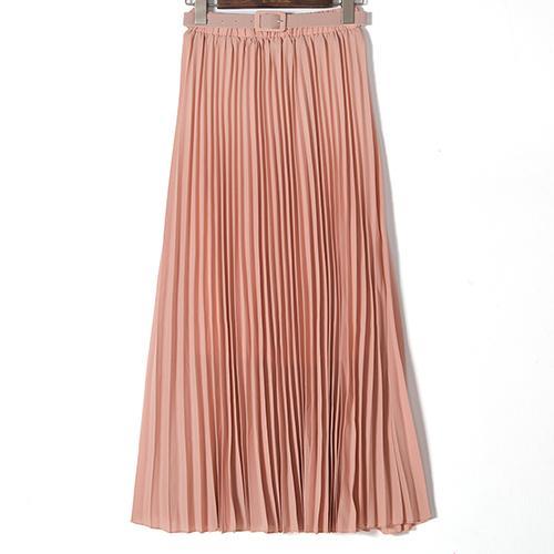 Pink Long Skirts