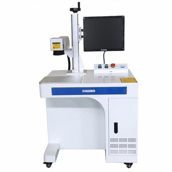 top popular Fiber laser marking machine for metal deep engraving and cutting name necklace jewelry 220V   110V laser marking machine VTPX# 2021